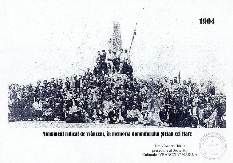 Monumentul a fost inaugurat în anul 1904, la 400 de ani de la moartea lui Ștefan cel Mare