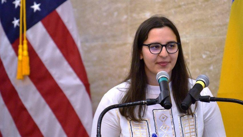 Irina Novac- Foto: Ambasada SUA în România