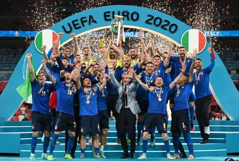 Italia, campioana Europei Foto: Twitter - UEFA EURO 2020