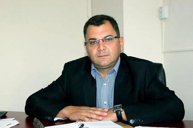 """Constantin Mîndilă directorul general al spitalului județean """"Sfântul Pantelimon"""" Focșani"""