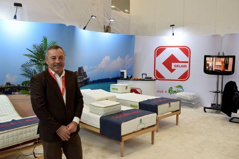 pre-comanda vânzare la cald online priză Firma Geladi din Pufești, Vrancea a prezentat la Koln cele mai bune saltele  realizate în fabrica proprie