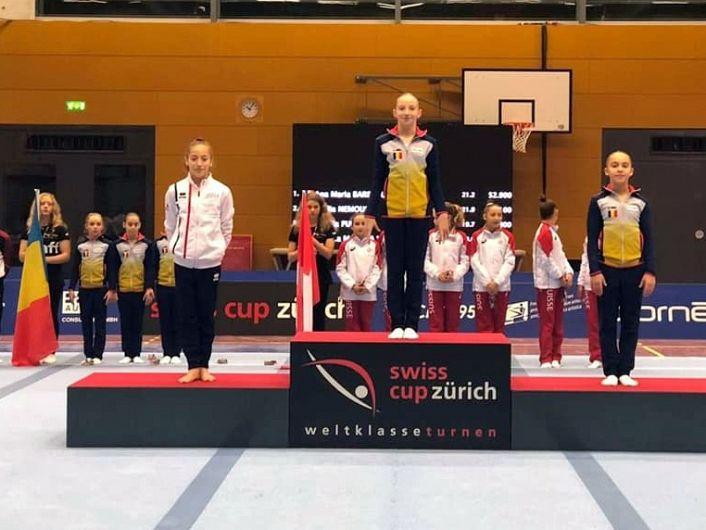Foto:Lotul Feminin de Gimnastica al Romaniei