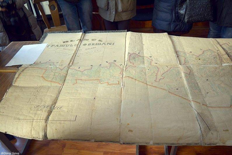 O harta unica, facuta manual inainte de Unirea Principatelor, se pastreaza la Arhivele Nationale