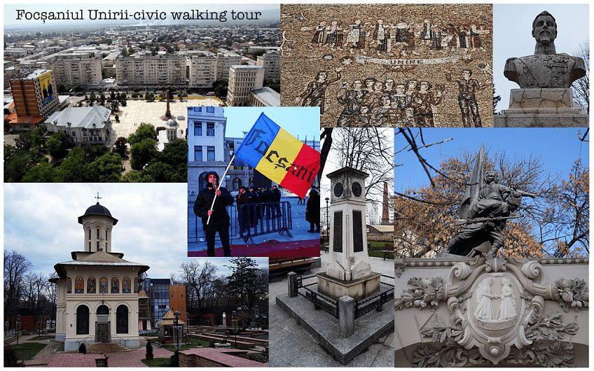 """Foto: Focșaniul Unirii Civic walking tour vă propune o incursiune în vremurile în care Focșaniul a fost aproape de a fi """"capitala"""" Principatelor Unite"""