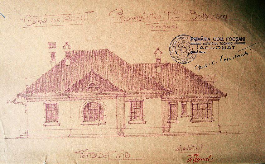 Casa  căsătoriilor-plan -Fotografie preluată  de pe blogulvranceaaltfel.ro