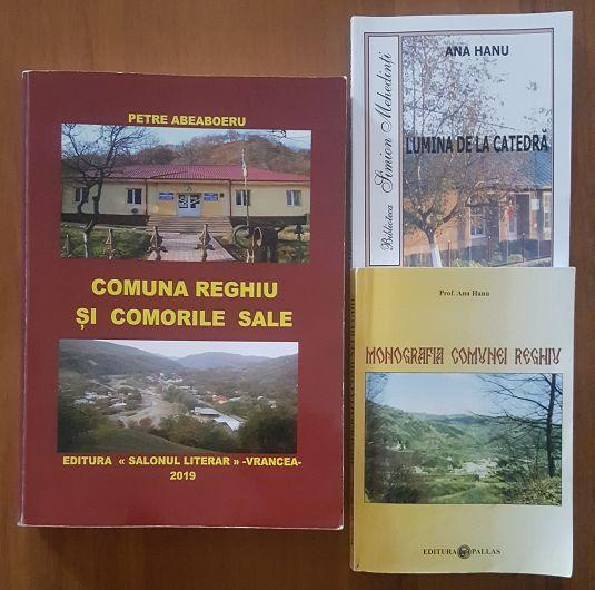 Foto: Monografia lui Abeaboeru și cele două volume ale prof. Ana Hanu, plagiate de Abeaboeru
