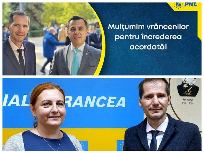 Ministrul Ion Ștefan și medicul Raluca Ioan deschid listele de candidați ai Partidului Național Liberal în județul Vrancea, la Camera Deputaților, respectiv Senat la alegerile parlamentare din 6 decembrie 2020