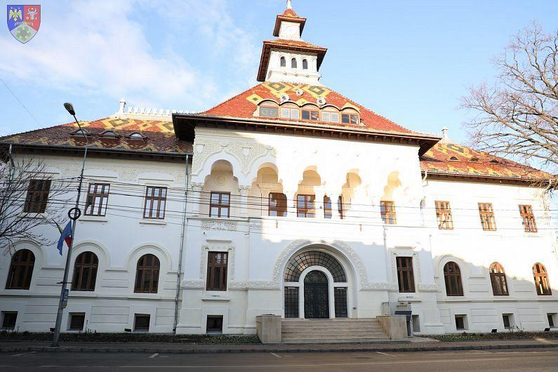 Sediul renovat al fostei Prefecturi Putna inaugurat pe 24 Ianuarie 2021, după o renovare- reparație de 30 de ani