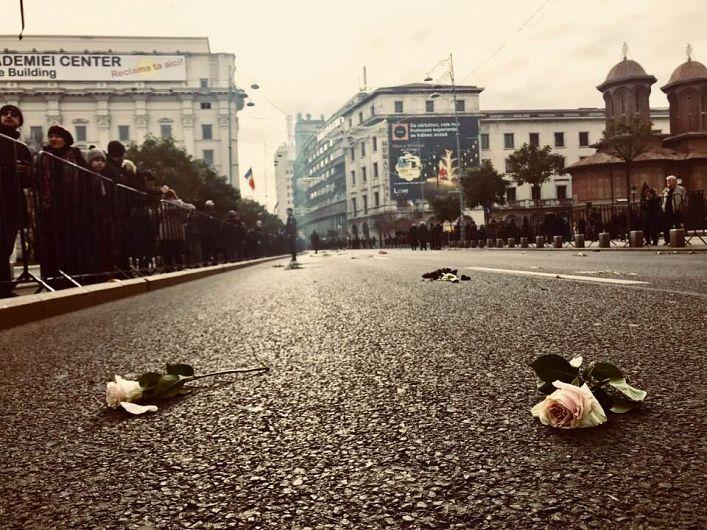 Fotografie preluată de pe contul de facebookAlexandra Tanasescu:Pe aici a trecut Ultimul Rege al României