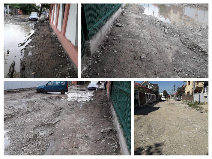 Foto:Strada I L Caragiale din municipiul Focșani, reședință a județului Vrancea, în secolul XXI