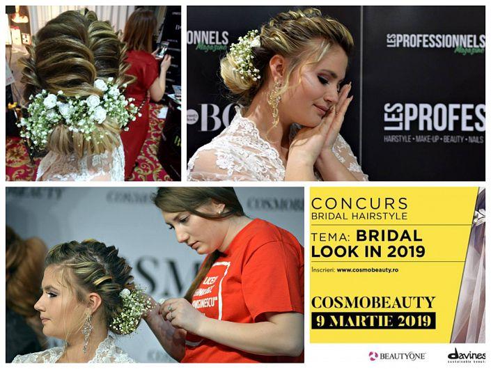Foto: Coafurile realizate de eleve pe părul colegelor de școală au fost surprinse de fotograful Doru Sava, care le-a însoțit în competiție