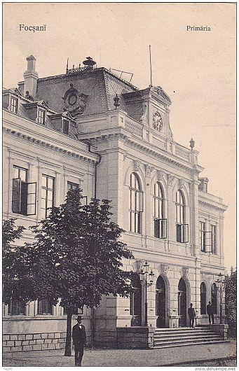 FOCȘANI vechi  PRIMARIA 1908  -Foto:Colectia PETRU MINCU