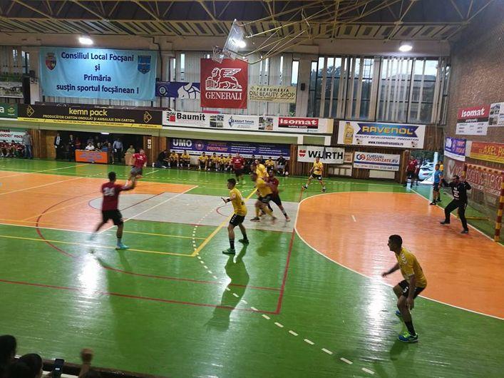 Imagini de la meciul CSM Focșani-CSU Cluj din tur de la Focșani
