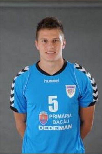 Bogdan Ionuț Moisă noul transfer al echipei de handbal masculin CSM Focșani 2007 făcut public pe 25.10.2017