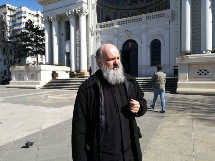 Preasfinţia Sa Constantin Sturzu, purtătorul de cuvânt al Mitropoliei Moldovei.Foto:radioiasi.ro
