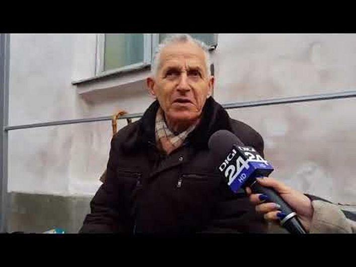 Primul pelerin sosit în Iași la Sărbătoarea Sfintei Parascheva 2107 a fostvrânceanul în vârstă de 77 ani,Ticu Mocanu