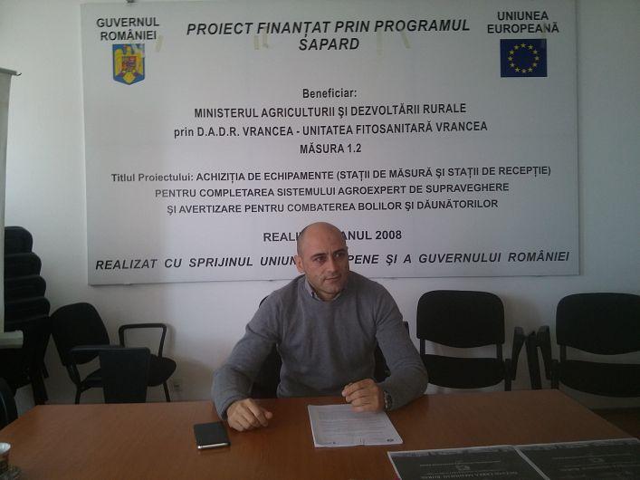 Liviu Burghelea le-a cerut beneficiarilor să țină permanent legătura cu AFIR