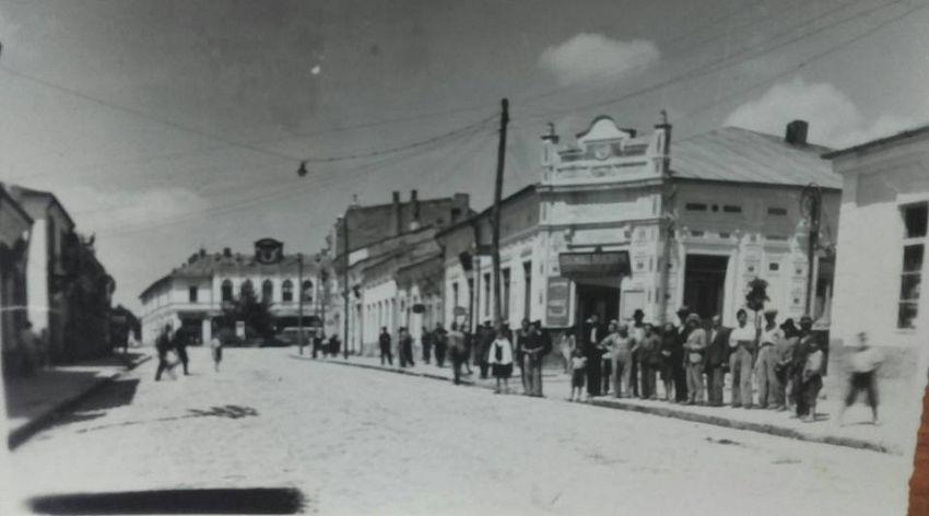 Strada Mare, fotografiată din zona Băncii Transilvania de astăzi. Foto: contul de facebook Gheorghiu Diana