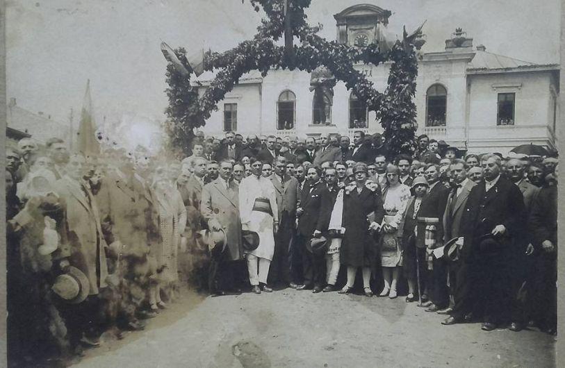 Panciu - fotografie din oraș, înainte de cutremurul din 1940. Foto:contul de facebook Gheorghiu Diana