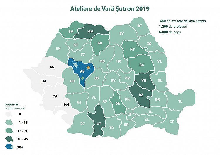 Harta Atelierelor de Vară-acoperire 2019
