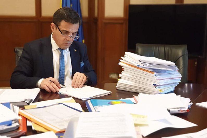 Vrânceanul Ion Ștefan, ministrul dezvoltării din guvernul Orban, măsurat în sondaje ca și candidat la Primăria Focșani-Foto:newsonline.ro