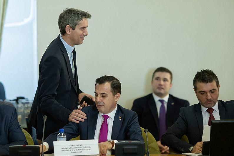 Foto 1 Ionel Dancă alături de ministrul Ion Ștefan