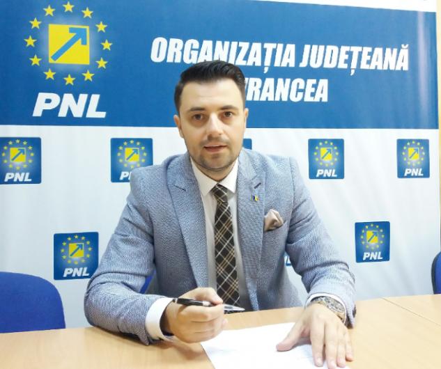 FOTO: Ionuț Filimon, consilier municipal în CL Focșani