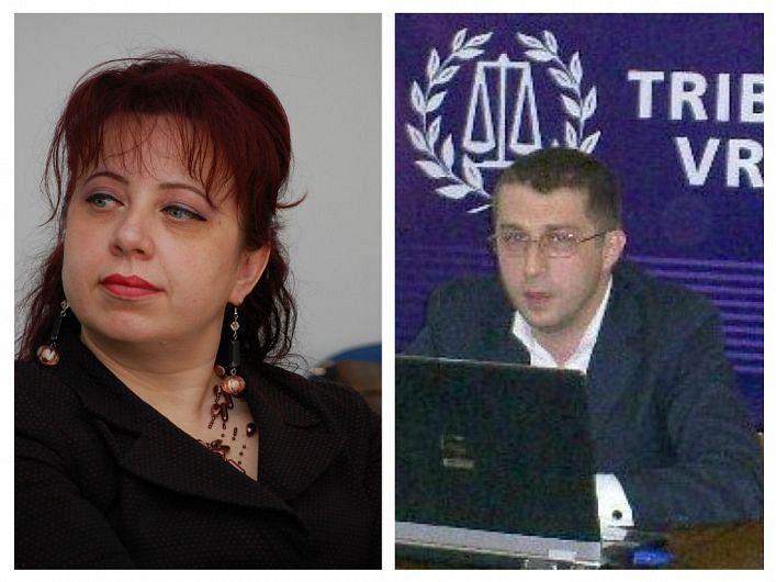 Conform hotărârii Secţiei pentru judecători din Consiliul Superior al Magistraturii,judecătorul Dinu Jelea (foto dreapta) va prelua, începând cu 5 ianuarie 2021, postul de la colega saDaniela Matache (foto stânga), în prezent preşedinte al Tribunalului Vrancea. Tot de la 5 ianuarie 2021, judecătoareaDaniela Matacheva ocupa funcţia de vicepreşedinte al Tribunalului Vrancea. De fapt, cei doi judecători vor schimba posturile de conducere din fruntea Tribunalului Vrancea între ei.