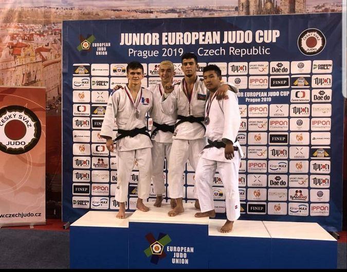 Judoka Laris Borș, CSM Focșani 2007 medalie de  aur, la Cupa Europeană de juniori de la Praga!-Foto Vlăduț Adrian Florin