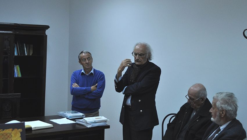 Foto3: Gheorghiță Geană la Colecția Muzeală din Soveja