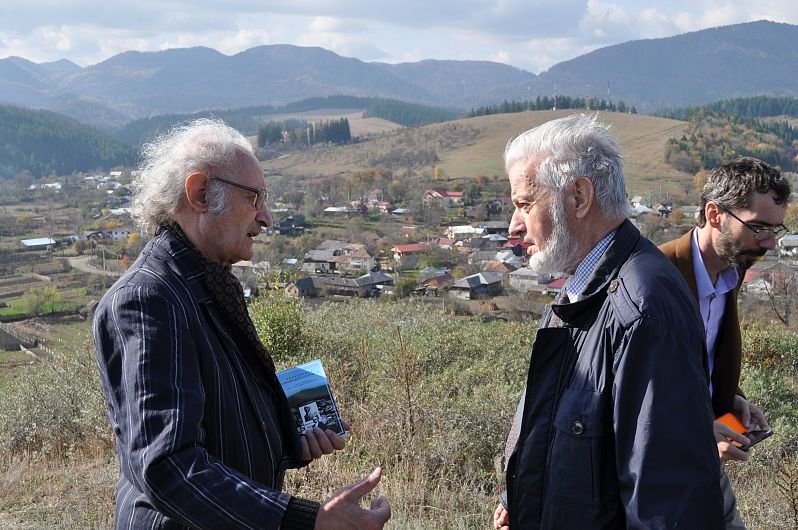 Foto5. Gheorghiță Geană față în față cu Șerban Dragomirescu