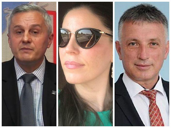 Președintele PNL Focșani, consilierul local Nicolae (Nicu) Tănase (foto stânga) va fi susținut să devină secretar de stat în Ministerul Lucrărilor Publice Dezvoltării și Administrației (MLPDA). Economistul Marinela Macovei (foto mijloc) va fi susținută de PNL Vrancea să devină secretar de stat la conducerea Agenției Naționale pentru Egalitatea de Șanse între Femei și Bărbați. Liberalul vrâncean Liviu Bostan (foto dreapta) va fi susținut pentru a ocupa postul de director al Agenției Naționale pentru Achiziții Publice (ANAP).