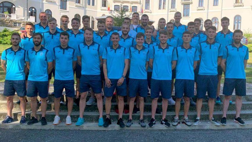 Echipa de fotbal CSM Focșani 200t înaintea începerii sezonului 2020/2021.Foto:liga2.prosport.ro