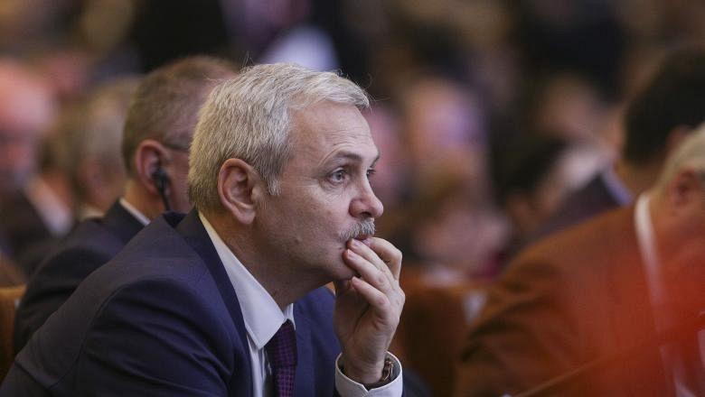 Liviu Dragnea, la ultimul Congres al PSD, în 2018 Foto: Inquam Photos / Octav Ganea