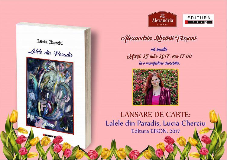 """Foto Lucia Cherciu oferă publicului o nouă carte de versuri, în care dă """"o armonioasă amplitudine temelor ei predilecte"""""""