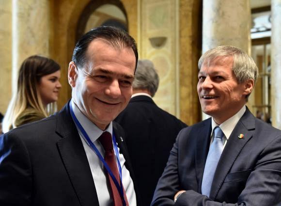 Preşedintele PNL, Ludovic Orban, a declarat că atacul lui Dacian Cioloş la adresa liberalilor este ciudat, afirmând că acesta face un serviciu PSD. FOTO: Agerpres