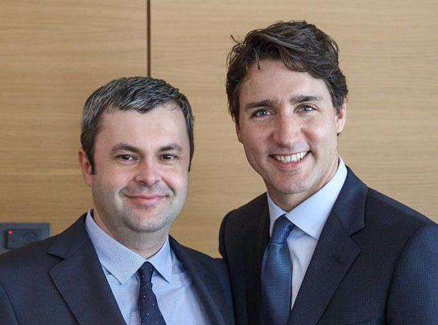 Sorin Moisă, alături de premierul Canadei