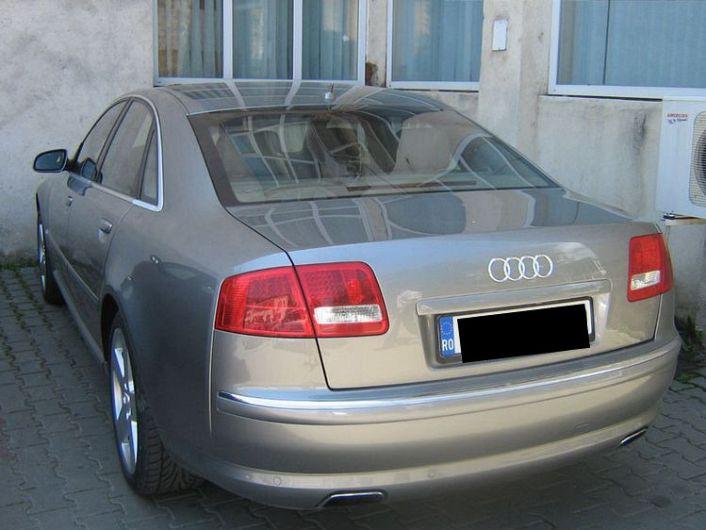 Autoturismul Audi pe care Marian Oprișan l-ar fi scos la vânzare pe un site de specialitate. Foto:realitateadevrancea.net