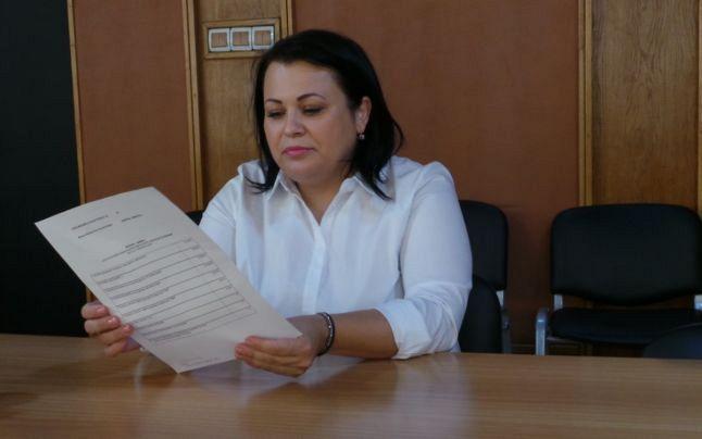 Purtătorul de cuvânt BEJ Vrancea, Cristina Stoica-foto-adevarul.ro