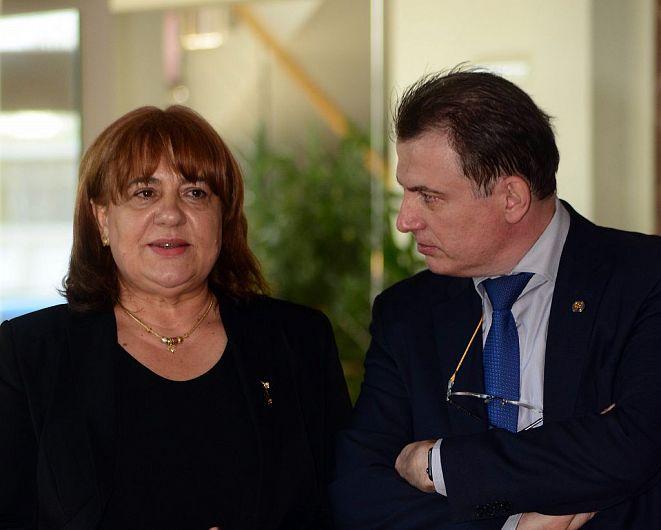 Foto: Paulina Roșcan, președinte al Federației Sindicatelor din Educație (FSE)