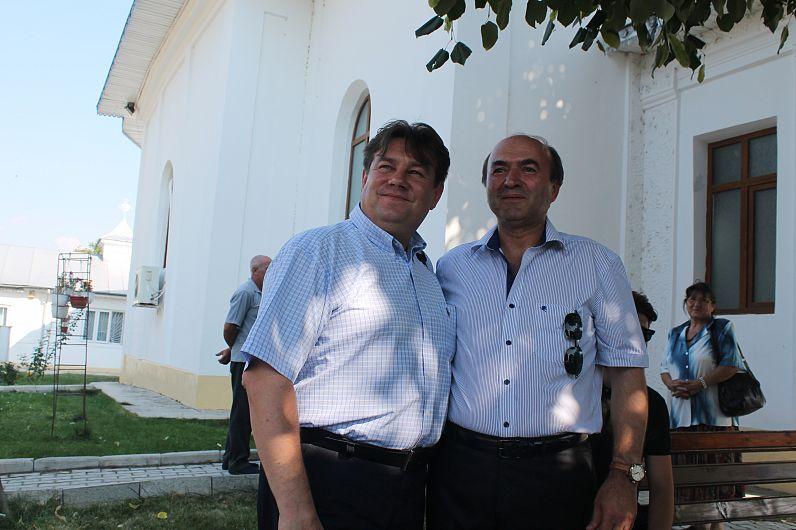Foto Tudorel Toader și Vasile Soare au venit și în anii trecuți la Vulturu