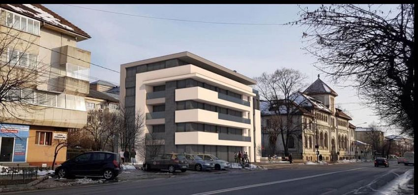 Foto Liberalii nu sunt de acord cu blocul lângă o clădire monument