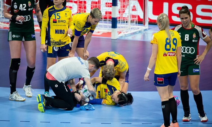Cristina Neagu a aflat primul verdict după accidentarea din meciul cu Ungaria -foto digi24.ro