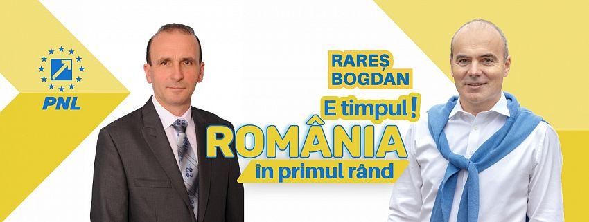 FOTO: Toader Gemănaș susține candidații PNL la europarlamentare