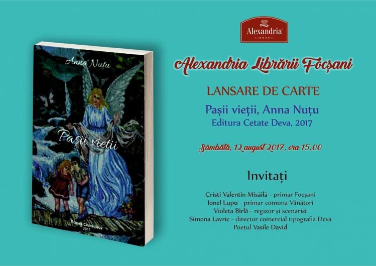 Foto: Invitație la lansare de carte