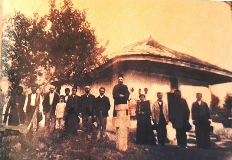 Biserica satului Broșteni la începutul de sec. XX