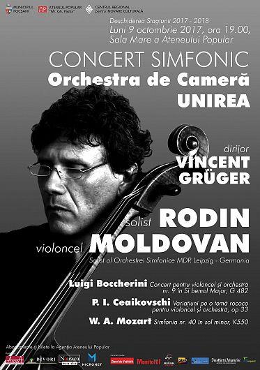 Rodin Moldovan este invitatul primului concert al stagiunii