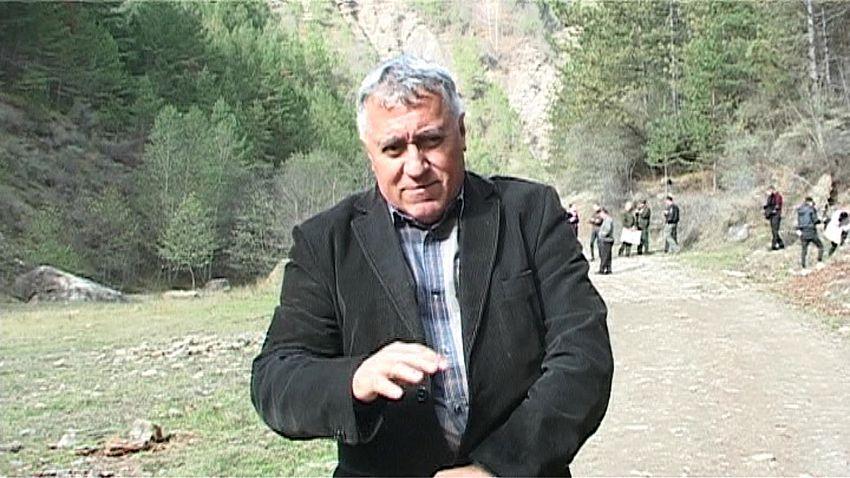 Foto:ing.Vică Petrişor, şef serviciu - Rnp Romsilva - Bucureşti.