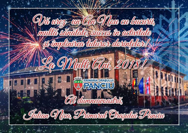 Fotografie preluată de pe contul de facebook Primăria Orașului Panciu