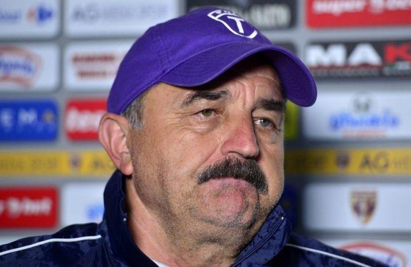 Antrenorul Timișoarei, Ionuț Popa, era verde de supărare după meciul pierdut